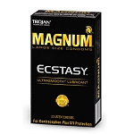 Trojan Magnum Ecstacy Ultrasmooth 10 Pack
