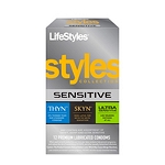Lifestyles Styles Sensitive Collection 12 Pack