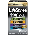 Lifestyles Ultra Trial 12 Pack