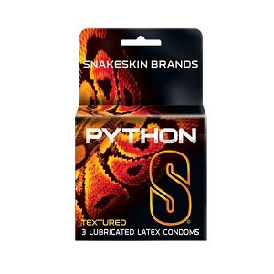 Python Large Condoms 3 Pack